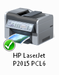 Tiskárna HP LaserJet P2015 ve Windows 7
