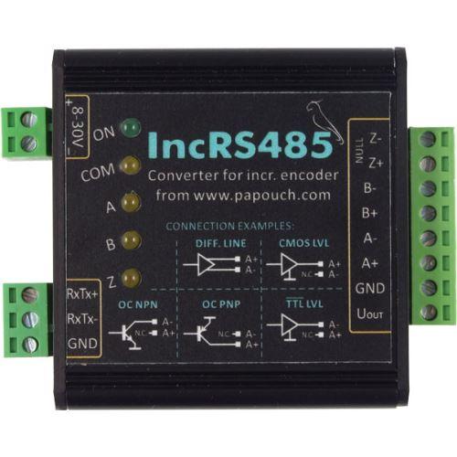 Rozhraní RS485 pro inkrementální snímač