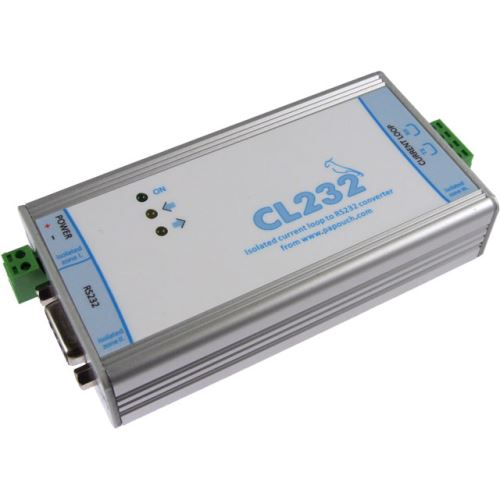 CL232 - konvertor proudové smyčky na RS232
