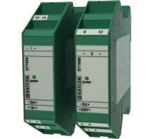 DT1600, 0-1A -> 0-10V, Střední hodnota, napájení 24V DC
