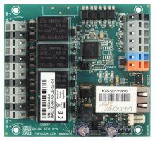 Quido ETH 4/4: 4 vstupy, 4 výstupy, teploměr, Ethernet