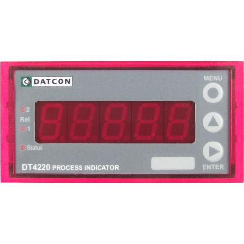DT4220 - procesní indikátor - čelní panel