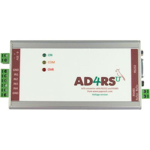 AD4RS - měřicí převodník s RS232 a RS485
