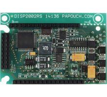 DISP2002RS: Samotná elektronika pro displej 2x20 znaků