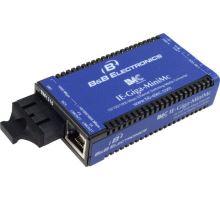 Průmyslový 100/10 Mbps media konvertor IE-MiniMc 40km