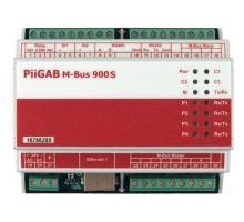 PiiGAB 900S: Převodník M-Bus na Ethernet, RS, Modbus