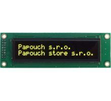 DISP2002RS: S OLED displejem 2x20 znaků