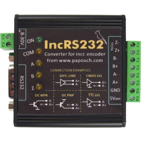Rozhraní RS232 pro inkrementální snímač