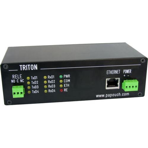 Triton s hlavní komunikační linkou Ethernet