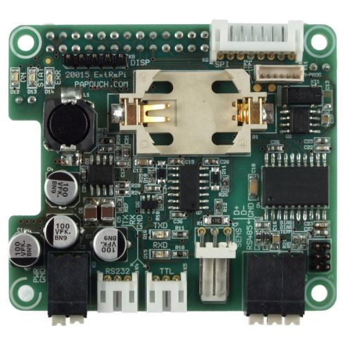 Rozšiřující deska pro Raspberry Pi - horní strana