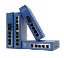 EKI-2525S-BE: průmyslový switch - 5 portů, 1x SingleMode optika
