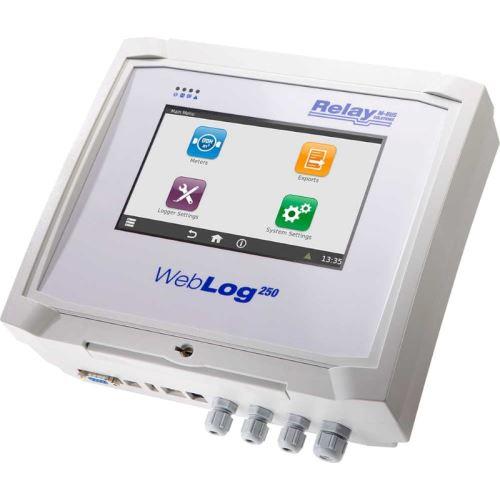 M-Bus master Relay WebLog s dotykoou obrazovkou a webovým serverem až pro 250 měřičů