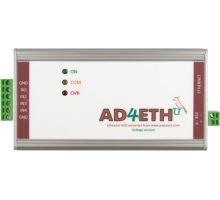 AD4ETH: Měřicí převodník s Ethernetem