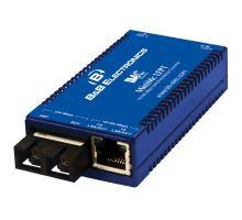 100/10 Mbps media konvertor MiniMc 20km, Single Strand