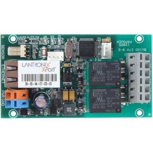 Quido ETH 0/2 - Relé pro Ethernet