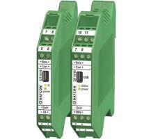 DT1010, Pt1000, 0-10 V, 2x relé, 24V DC