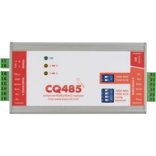 CQ485 - Opakovač a oddělovač linek RS485/422.