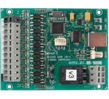 Quido USB 10/1: 10 vstupů a 1 výstup