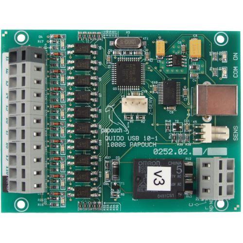 Quido USB 10/1 - 10 vstupů a 1 výstup