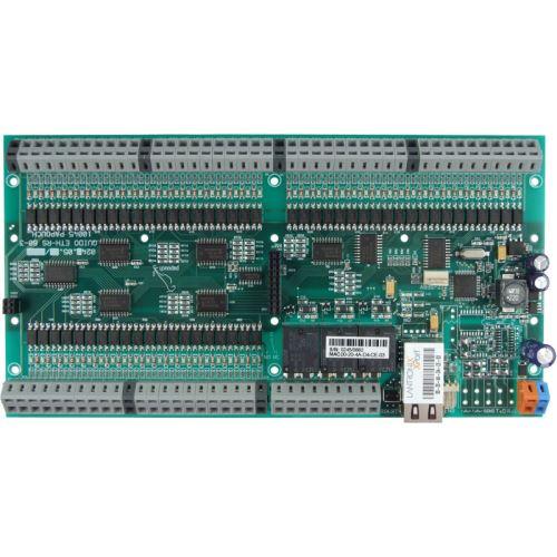 Quido ETH 60/3 - 60 vstupů, 3 výstupy a teploměr s ovládáním přes Ethernet (LAN)