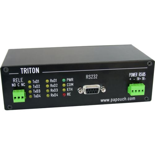 Triton s hlavní komunikační linkou RS485 + RS232