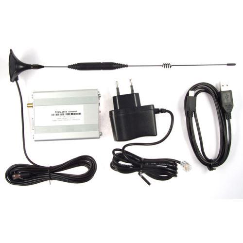 Kompletní sada modemu - TC65i + adapter + anténa + napájecí kabel