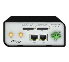 3G/LTE router LR77 v2 Libratum, plastové šasi